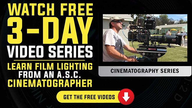 Learn film lighting from an ASC cinematographer
