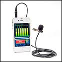 Azden i-Coustics® EX-503i Smartphone Lapel Microphone