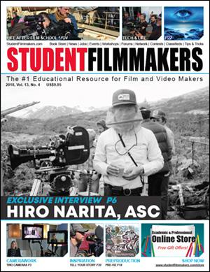 StudentFilmmakers Magazine Cover