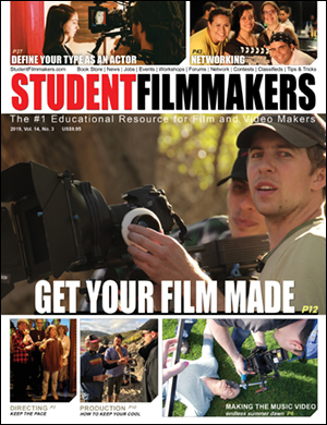 StudentFilmmakers Magazine Preview