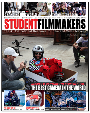 StudentFilmmakers Magazine Cover