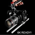 Camera cage for BMCC 4k and 6k by Shape