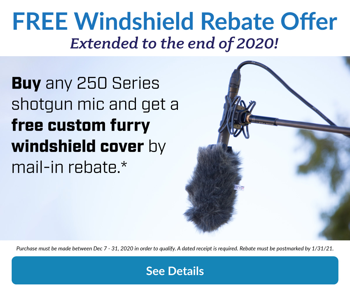 Complimentary windshield rebate offer.