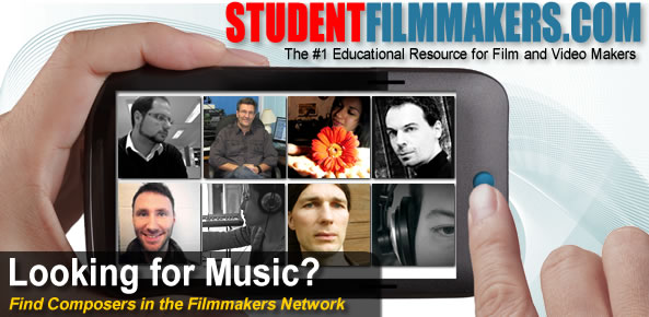 Looking for Music? Find Composers in the Filmmakers Network