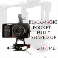 BlackMagic Pocket Fully Shaped Up