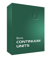 Boris FX - Continuum Units