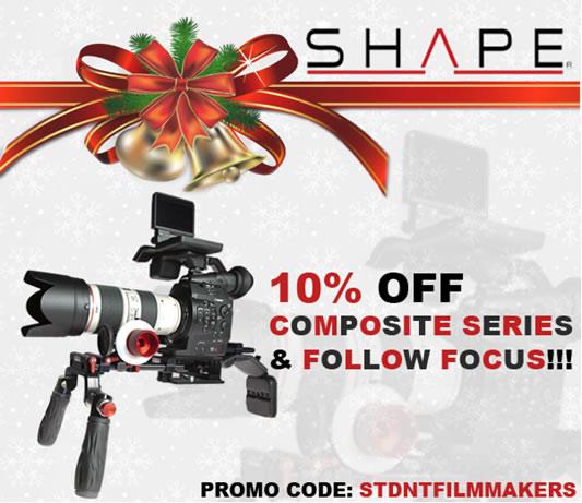 SHAPE: 10% OFF Composite Series & Follow Focus!!!