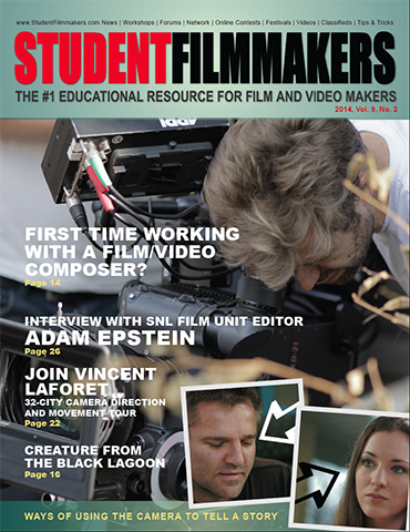 StudentFilmmakers Magazine, Vol. 9, No. 2