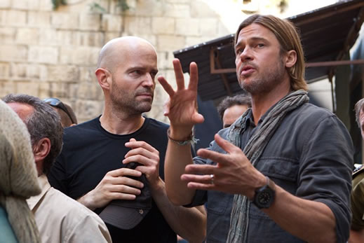 Behind the scenes of World War Z