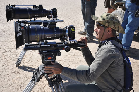 Canon EOS 5D Mark II Digital SLR Cameras Take Moviegoers Deep Into The Daring Operations Of