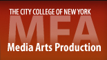 The City College of New York (CCNY)<br>MFA in Media Arts Production Program
