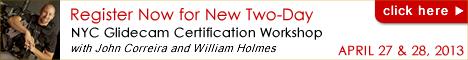 Register Now for NYC Glidecam Certification Workshop