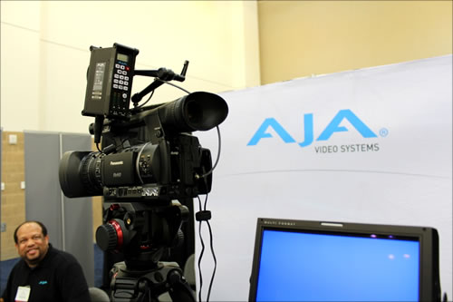 AJA Video Systems exhibit booth #200