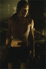 Erin (Jessica Biel) in the Texas Chainsaw Massacre remake. Photo by Van Redin, Courtesy of New Line Productions.