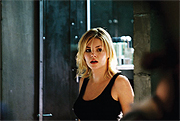 Actress Elisha Cuthbert during the filming of Captivity. Photo courtesy of After Dark Films.