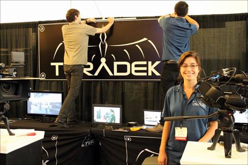 Teradek's exhibit booth # 223