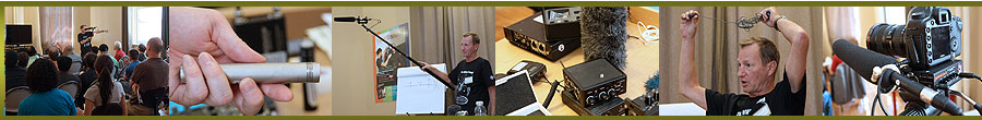 Production Sound Recording for Film and Video Workshop with Richard H. Topham C.A.S.