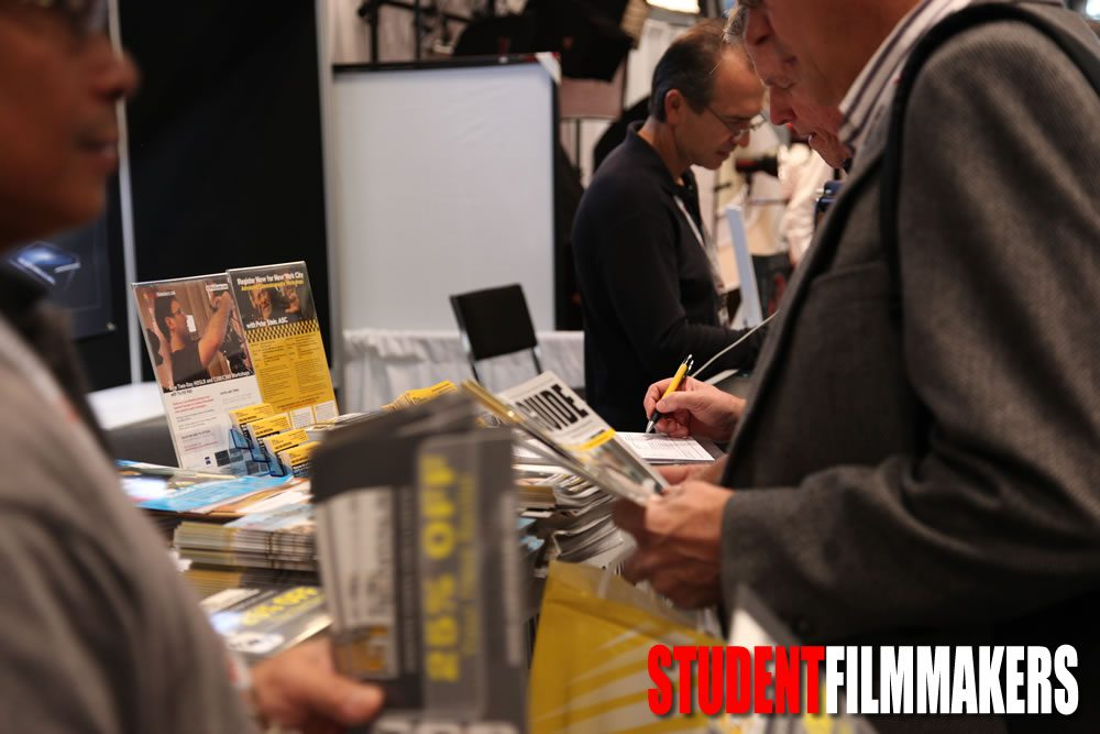 Pick up New HDProGuide Magazine at the StudentFilmmakers.com Booth # 1265, PhotoPlus Expo, Manhattan, NYC