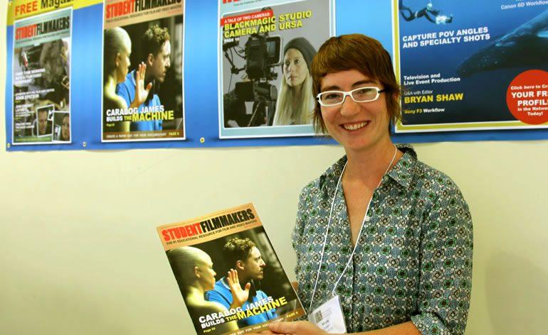 PHOTOS   StudentFilmmakers Magazine at UFVA 2014 - Bozeman, Montana