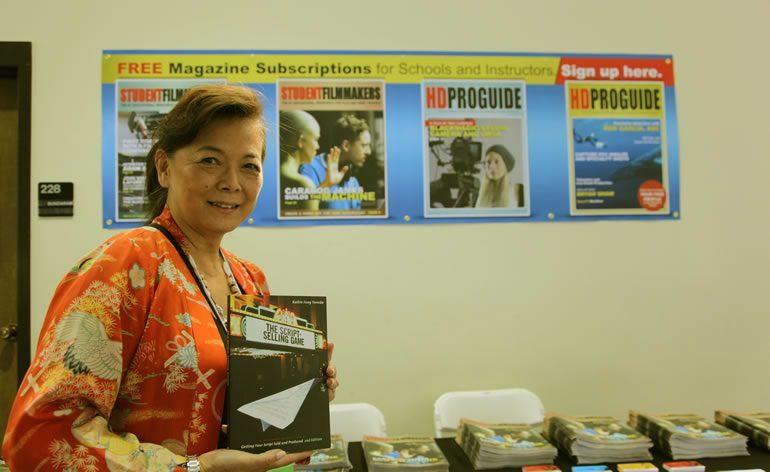PHOTOS   StudentFilmmakers Magazine at UFVA 2014   Author Kathie Fong Yoneda