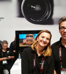 StudentFilmmakers Magazine drops by ZEISS' Exhibit Booth 1029 at Photo Plus Expo in Manhattan NYC