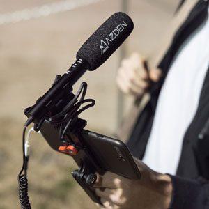 Azden SGM-990+i zoom microphone
