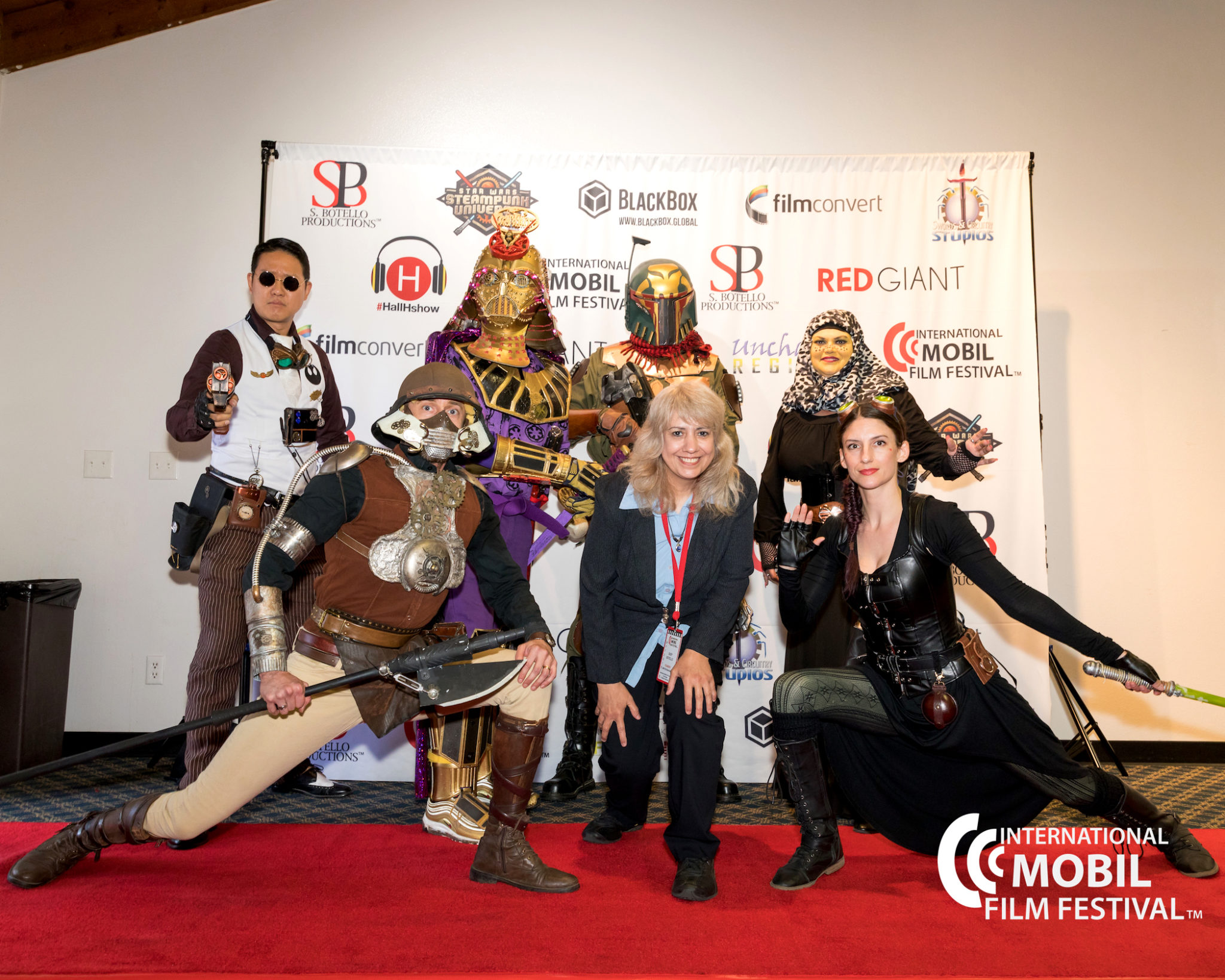 MFF2019SanDiego Red Carpet Star Wars Steampunk Universe