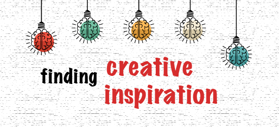 Finding inspiration to create your own Content