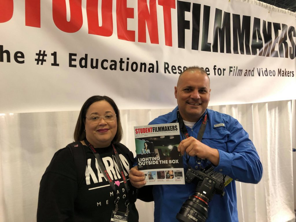 Happening Now! PHOTOPLUS, Manhattan, NYC: Pick up Complimentary Featured Editions of StudentFilmmakers Magazine at Booth 665