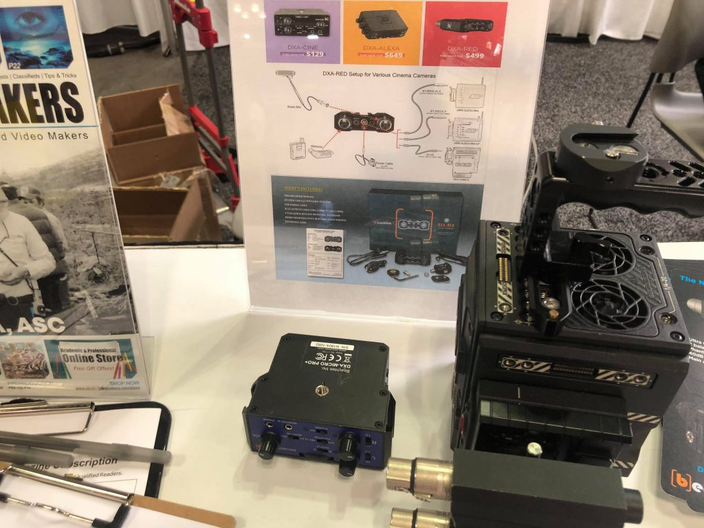 DAY 2: PHOTOPLUS 2019 Attendees check out Beachtek DXA-RED at StudentFilmmakers Magazine Booth 665