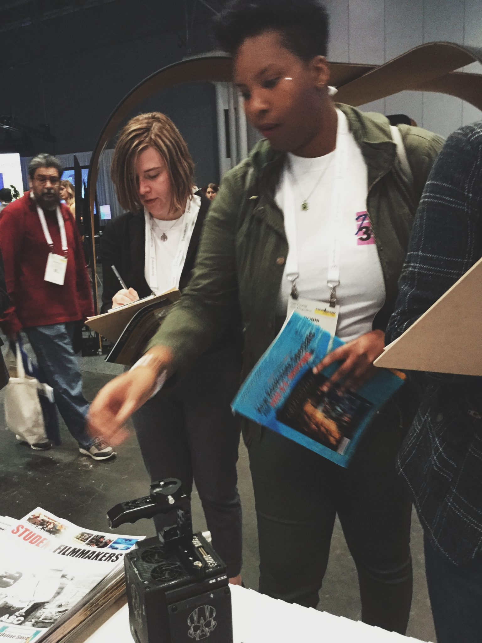 NAB Show NY, Manhattan - Women in Media, Women in Film @ StudentFilmmakers Magazine & HD Pro Guide Magazine Booth N1058
