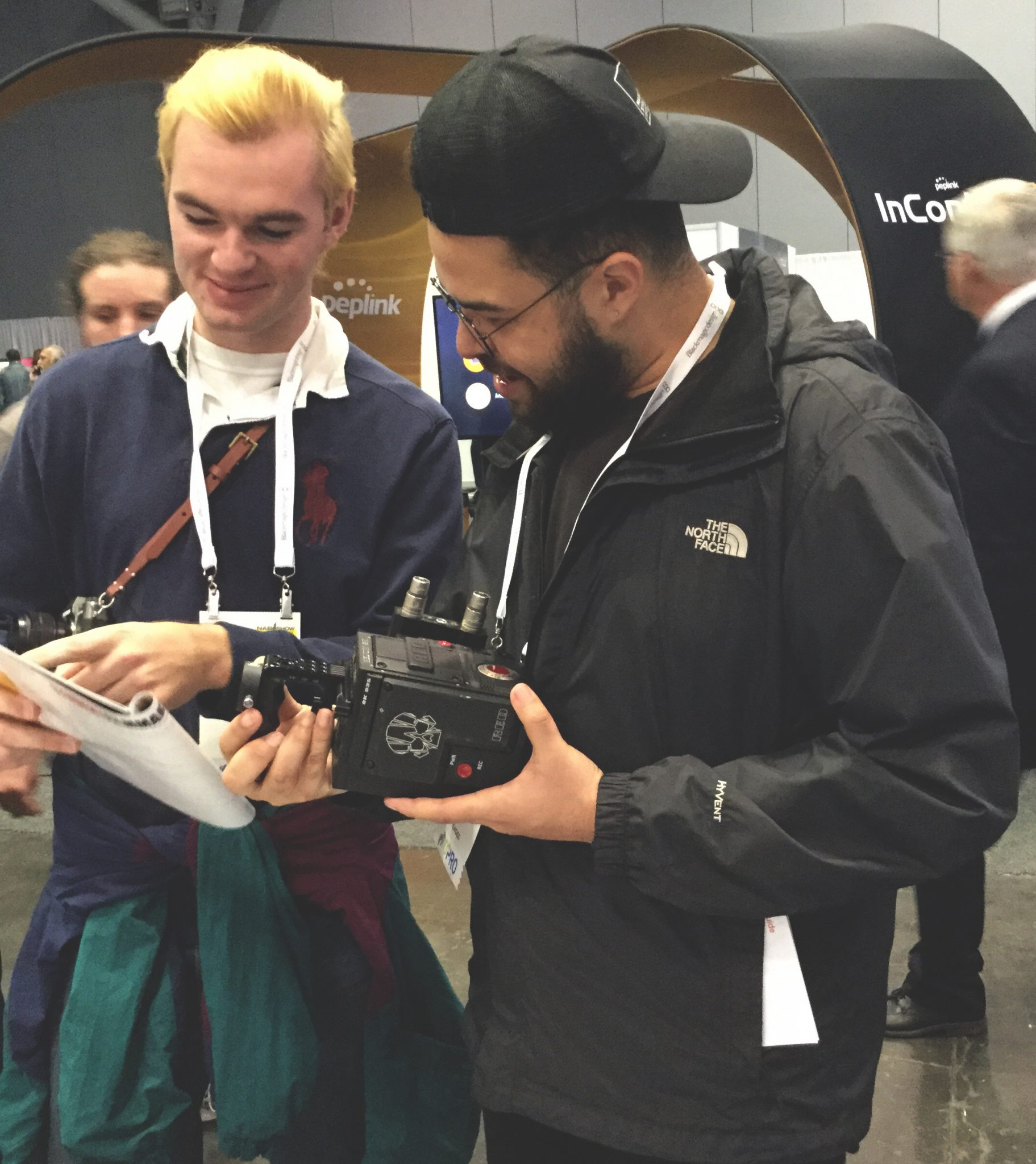 NAB Show New York - Filmmakers, Content Creators, and Broadcasters check out the Beachtek DXA-RED at the StudentFilmmakers Magazine Booth N1058