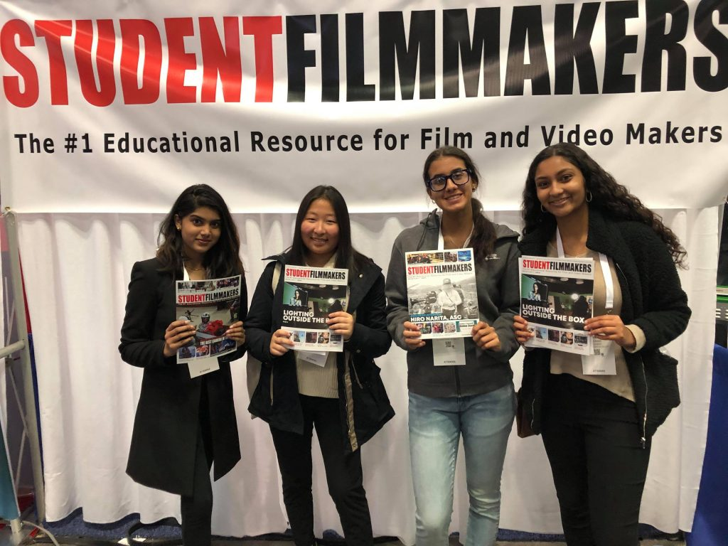 Students, Come to the StudentFilmmakers Magazine Booth N1058 - NAB Show NY, Manhattan