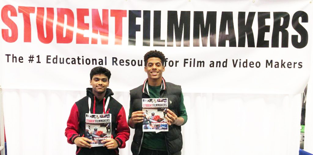 NAB Show NY, Booth N1058 - StudentFilmmakers Magazine Welcomes Students and Next Generation Filmmakers