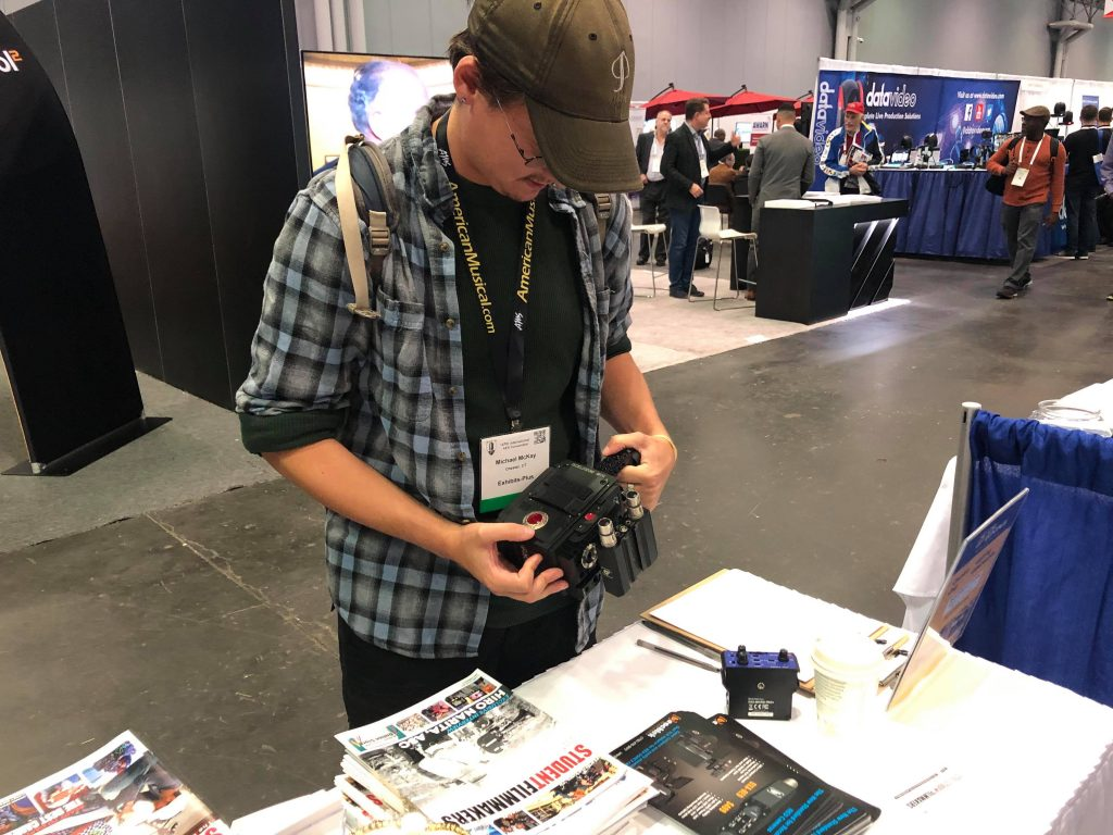 NAB Show New York Attendees Pick Up Featured Collectors Editions of StudentFilmmakers Magazine and Check Out the Beachtek DXA-RED