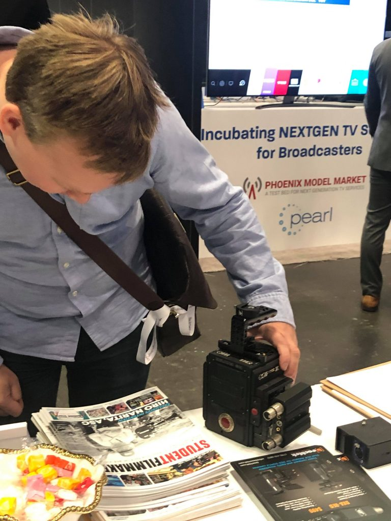 Filmmakers & Content Creators Pick Up Featured Collectors Editions of StudentFilmmakers Magazine and Check Out the Beachtek DXA-RED at NAB Show NY
