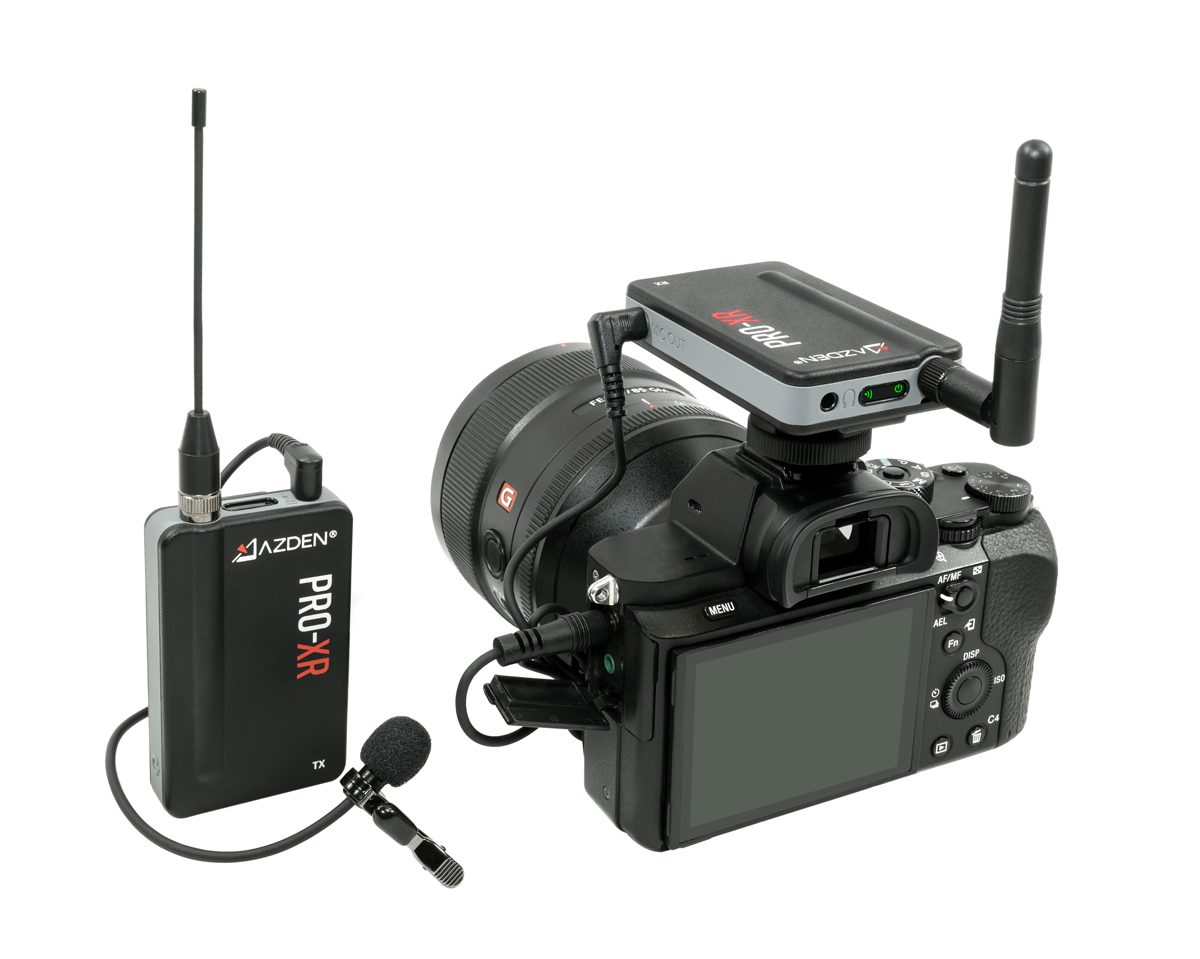 Azden's New PRO-XR 2.4GHz Wireless Mic Offers Incredibly Reliable Performance