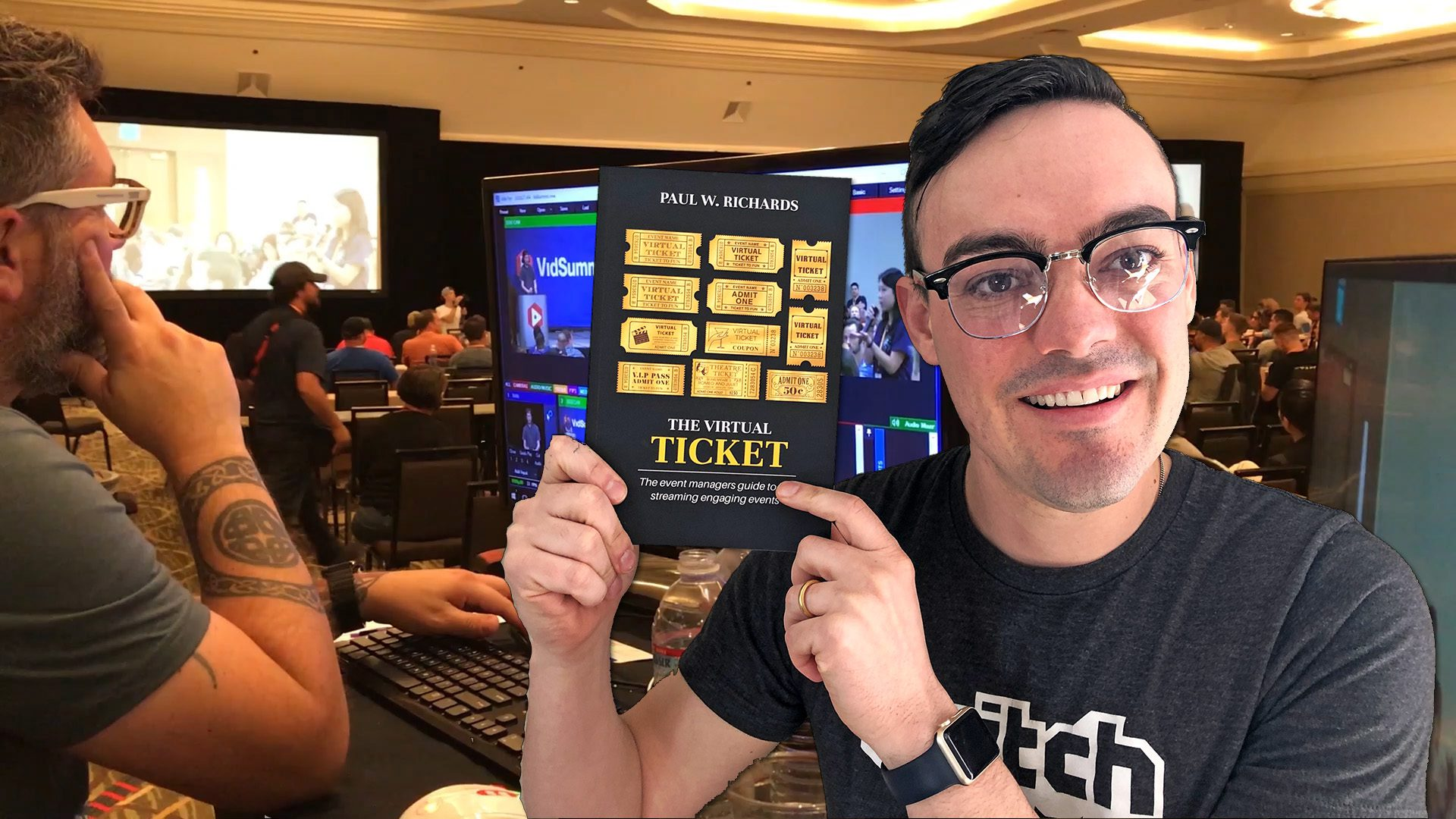 virtual ticket book