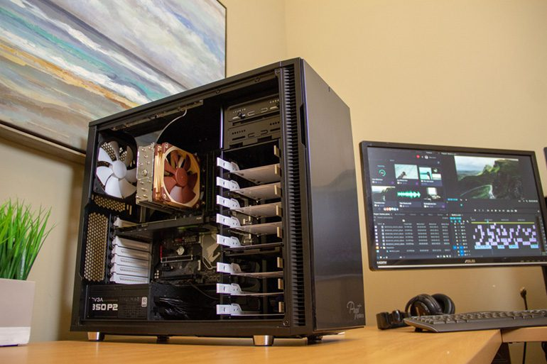 Puget Systems Post-Production Workstations: Customize Your Tools Wisely