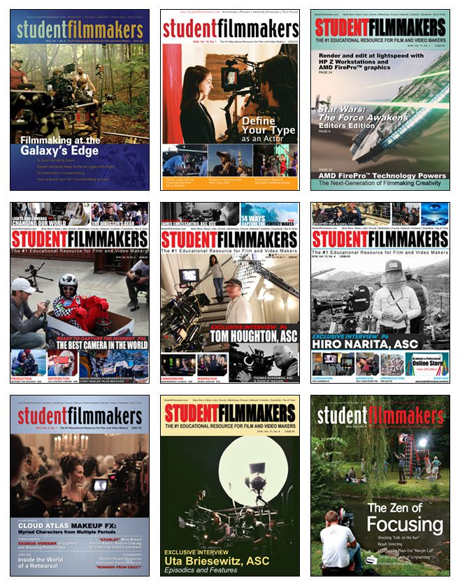 80 Editions Collection - StudentFilmmakers Magazine