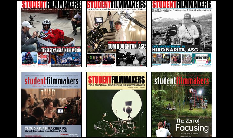 New Collection! 80 Digital Editions of StudentFilmmakers Magazine