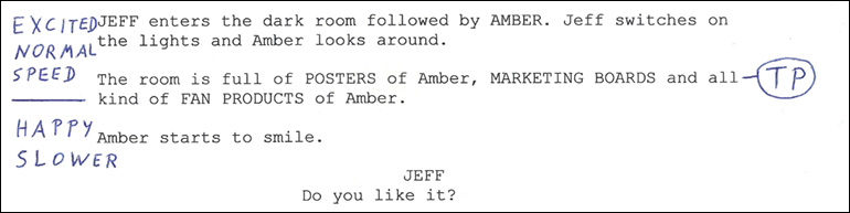 Film Script Excerpt