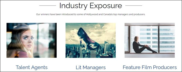 Industry Exposure: Talent Agents, Lit Managers, and Feature Film Producers