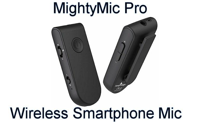 MightyMic Pro Wireless Smartphone Mic