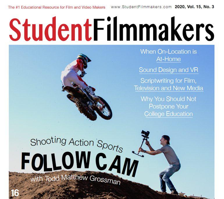 StudentFilmmakers Magazine Testimonials