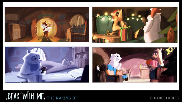 """Animation Short Film, """"Bear With Me"""""""