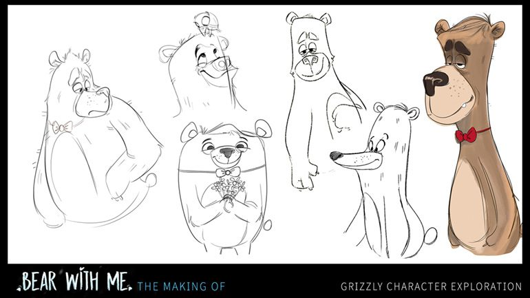 Grizzly Character Exploration