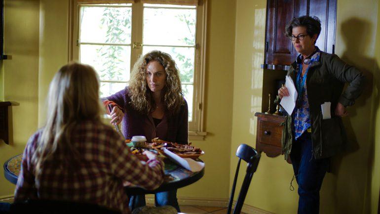 Rachel Feldman, Film Director on Set