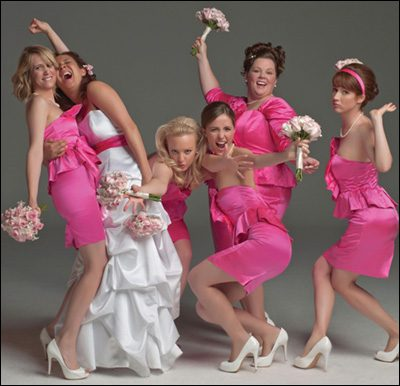 Cast of the Movie, Bridesmaids