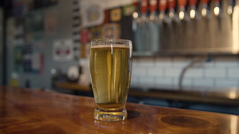 """Scene at Pacific Plate Brewing Co. from Documentary Series, """"Art of the Brew"""""""